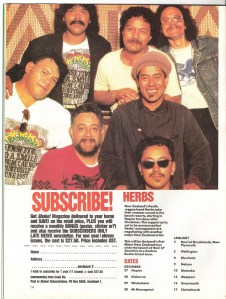 Herbs Band -Aotearoa-